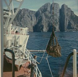 Landing Stores At Tasman Island December 1967