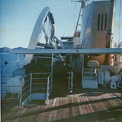 On Board Cape Pillar Enroute From Tasman Island To Maatsuker Island 1968