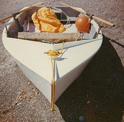 Home Built Dinghy Sea Wind Centre Island 1972 New Zealand